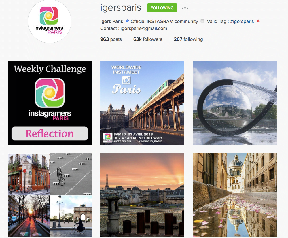 igers paris instagram