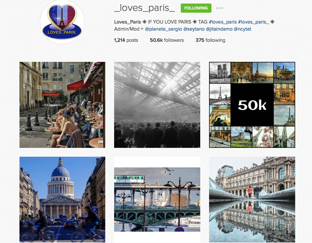loves paris instagram