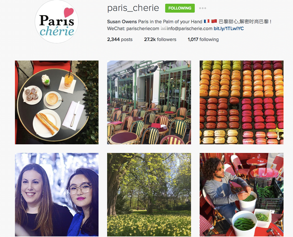 paris cherie instagram