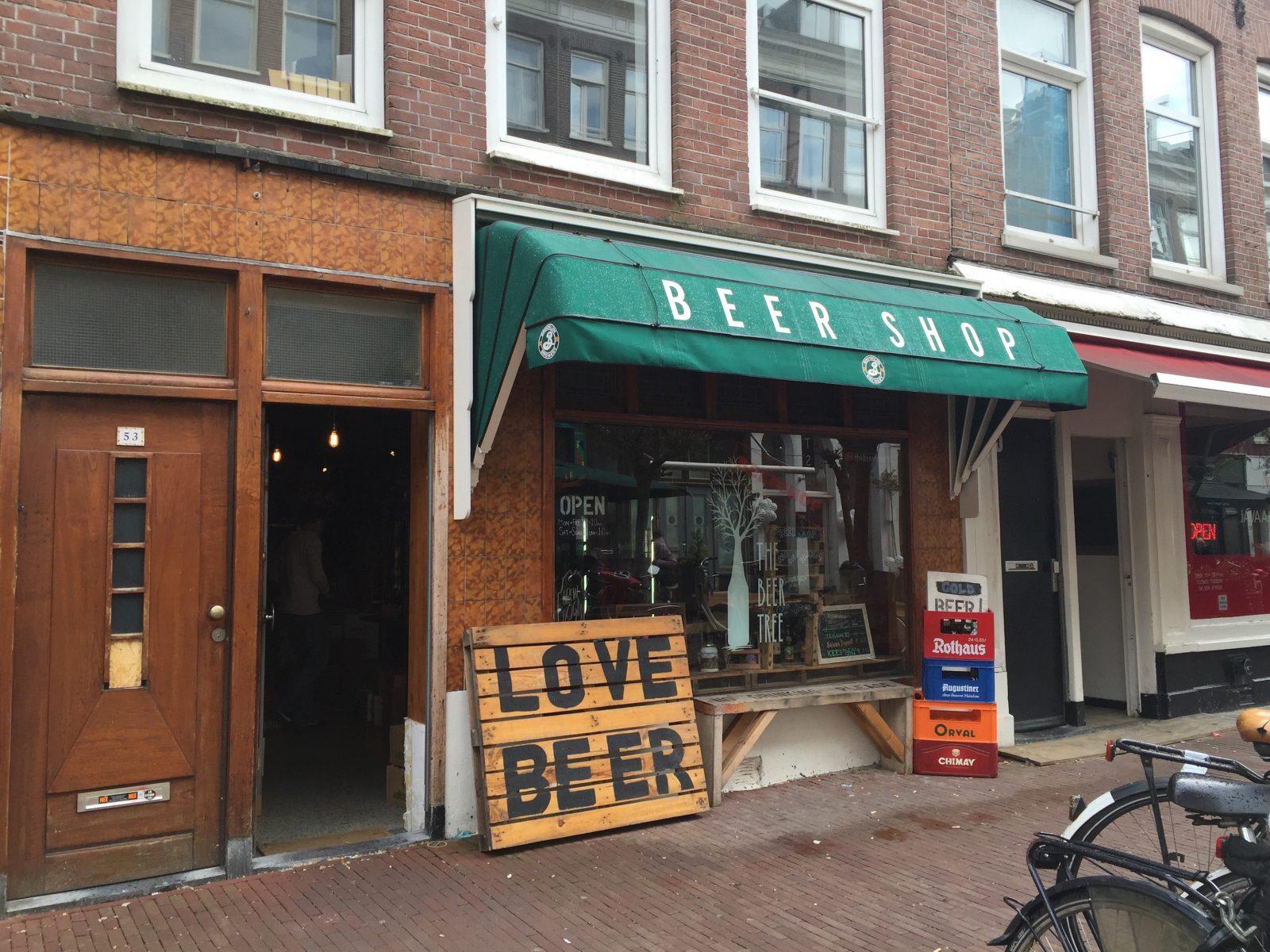 Amsterdam Bira Alışverişi : Beer Shop