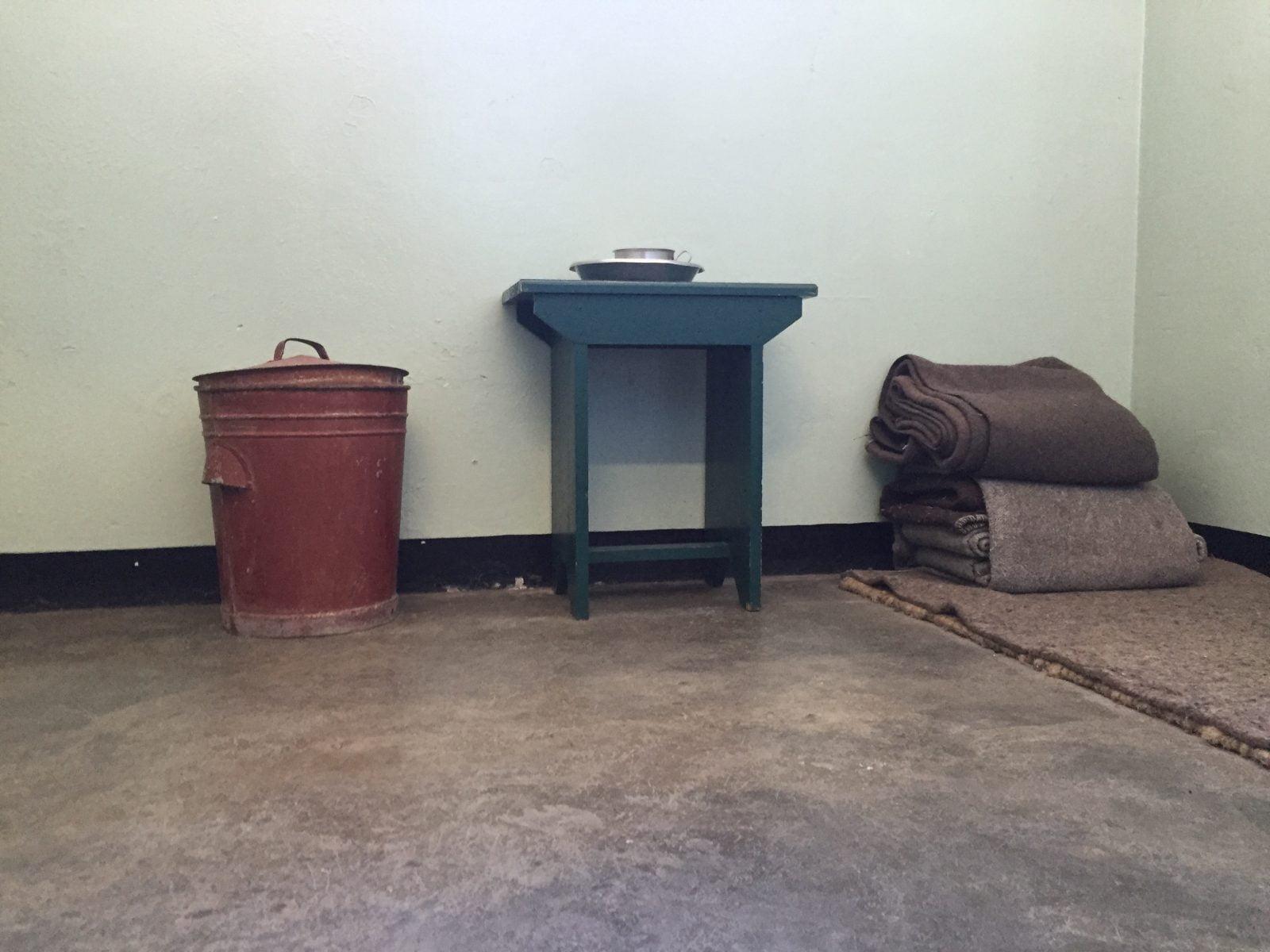 Nelson Mandela'nın hücresi